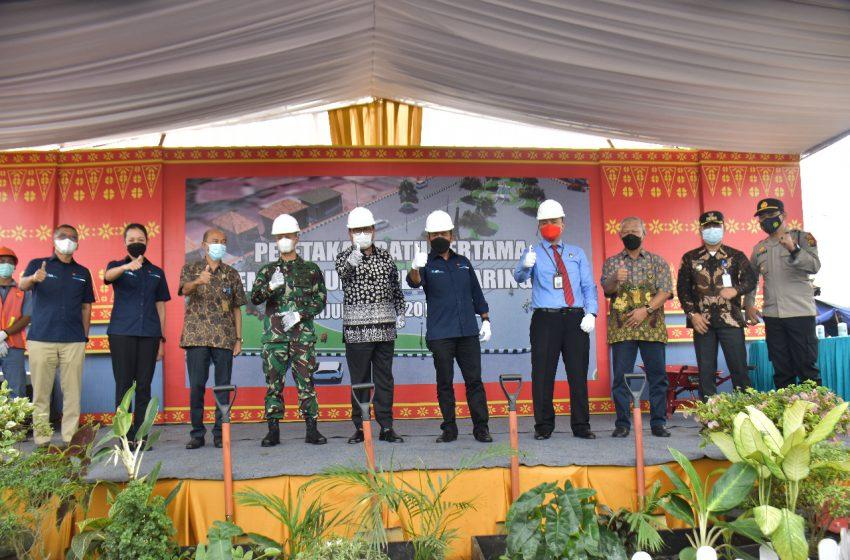 Pembangunan Plaza Saringan Dimulai