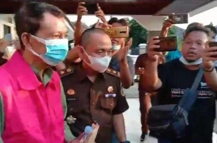 Diduga Korupsi Rehap Jembatan Gantung, Kades Bedegung Semidang Aji OKU di Tahan Kejari