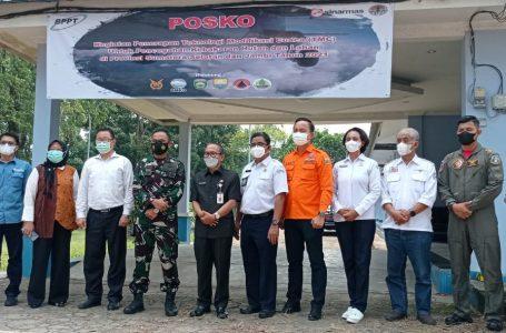 Posko Lanud SMH Gelar Rapat Pembukaan Kegiatan Technologi Modifikasi Cuaca