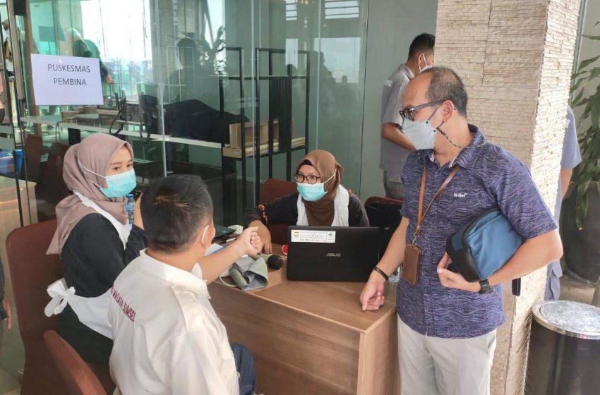 RSUD Siti Fatimah Gilir Karyawan Swasta di Palembang untuk di Vaksinasi