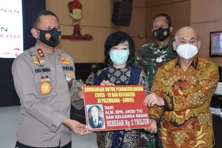 Fantastis, Wong Sumsel Sumbang Rp 2 Triliun untuk Penanganan Covid-19