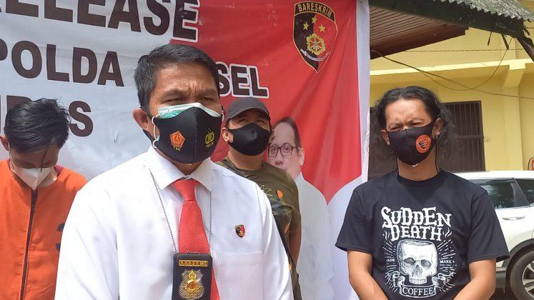 Kecanduan Judi Online dan Narkoba, Pemuda di Palembang Nekat Jual Motor Teman