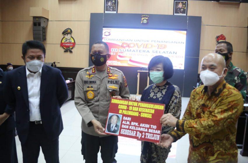 Bantuan Rp 2 Triliun dari Pengusaha Aceh Hoax, Putri Akidi Tio Digiring ke Mapolda Sumsel