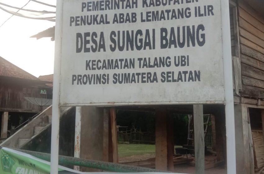 Oknum Perangkat Desa Sungai Baung Diduga  Sunat Bansos  PKM