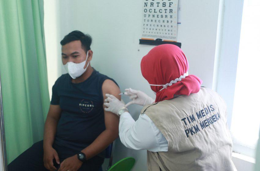 Wujudkan Herd Immunity PT KAI Divre III Palembang Gelar Vaksinasi Covid-19 Pegawai dan Keluarga