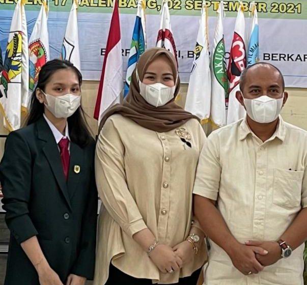 Walikota Pangkal Pinang Hadiri Pengukuhan Calon Peserta Didik Baru SMA Plus Negeri 17 Palembang