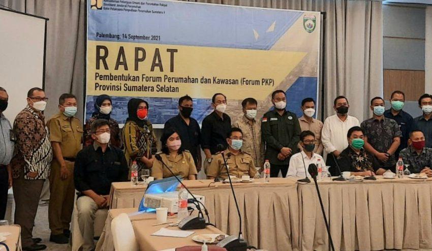 Forum PKP Langkah Nyata untuk Masyarakat Sumsel Dapatkan Perumahan Layak