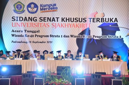 Herman Deru Ketua Ikatan Alumni Unversitas Sjakhyakirti