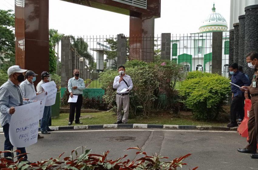 LSM GRANSI Temukan Dugaan Korupsi Pengadaan Benih Bibit Padi di Dinas Pertanian Sumsel