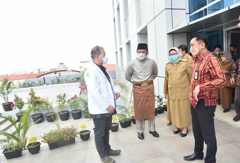 Gubernur Sumsel Apresiasi Ruang Inap Eksekutif Standar Internasional di RSUP Mohammad Hoesin