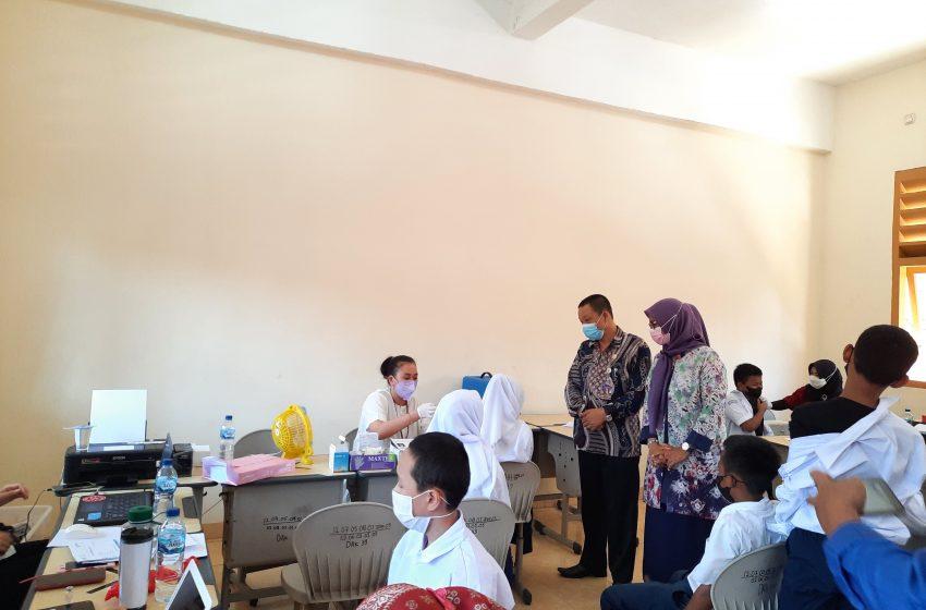 632 Siswa SMP Negeri 45 Laksanakan Vaksinasi