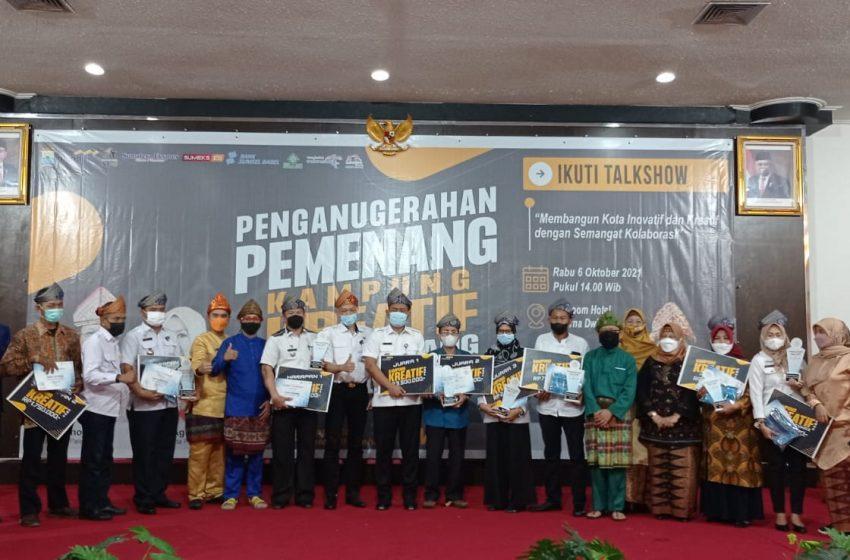 Sugi Waras Dianugerahkan Menjadi Kampung Kreatif Kota Palembang Tahun 2021