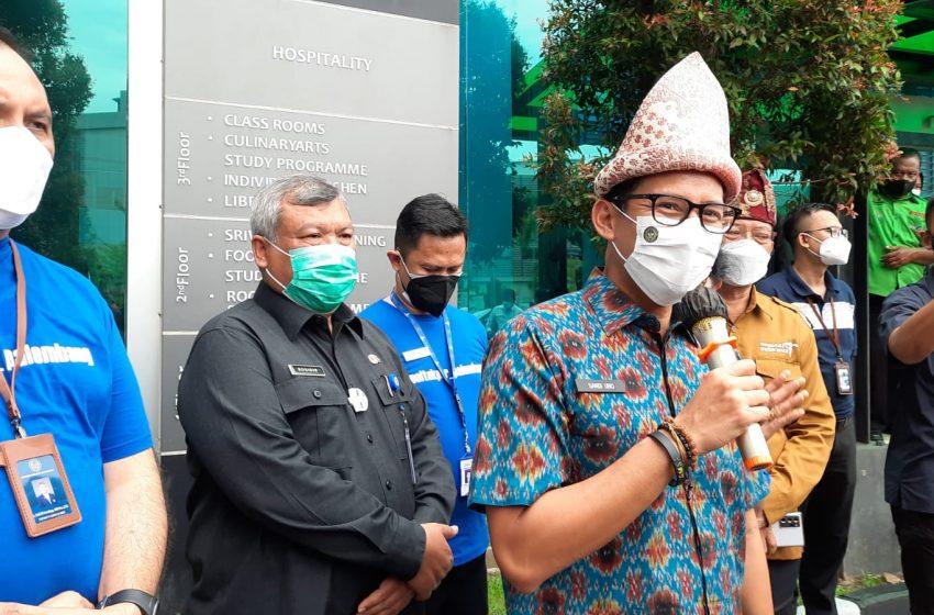 Tiga Kunci Tetap Eksis Masa Pandemi Ala Kemenpraf Sandiaga Uno